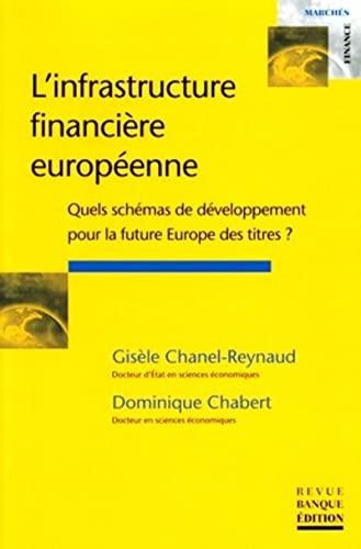 9782863254127: L'infrastructure financi�re europ�enne : Quels sch�mas de d�veloppement pour la future Europe des titres ?