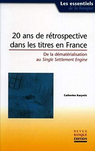 9782863254295: 20 ans de rétrospective dans les titres en France (French Edition)