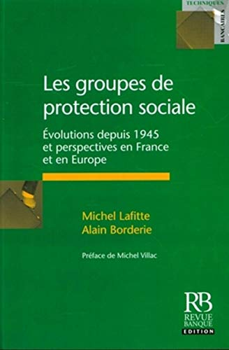 9782863254578: Les groupes de protection sociale (French Edition)