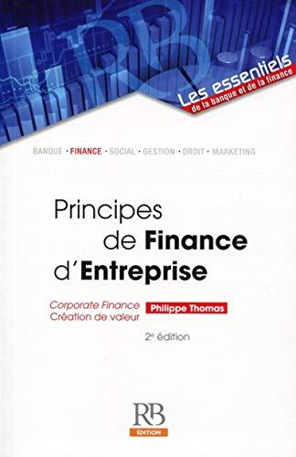 9782863255933: Principes de Finance d'Entreprise : Corporate finance, Création de valeur