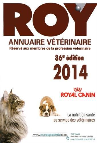 9782863263402: Annuaire vétérinaire Roy 2014