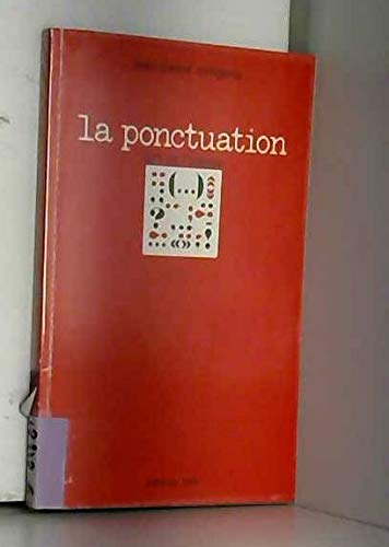 9782863330081: La ponctuation