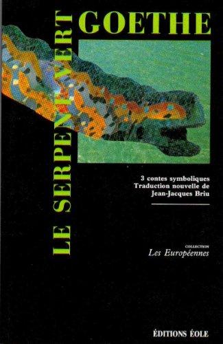 9782863330135: Le serpent vert
