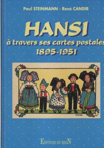 9782863391181: Hansi à travers ses cartes postales : 1895-1951