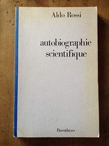 9782863640500: Autobiographie scientifique