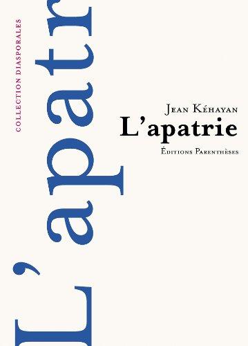 9782863640937: L'Apatrie