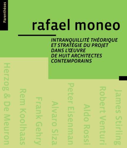 Intranquilité théorique et stratégie du projet dans l'oeuvre huit archit....
