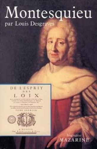 Montesquieu (Biographie) (French Edition): Desgraves, Louis