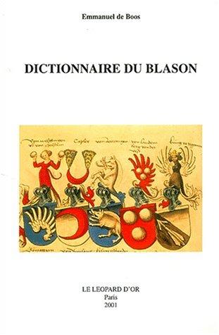 9782863771709: Dictionnaire du blason (French Edition)