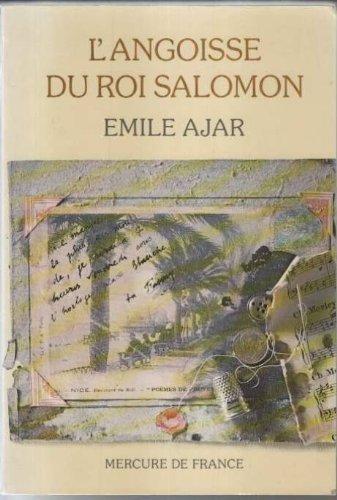9782863960288: L'angoisse du Roi Salomon