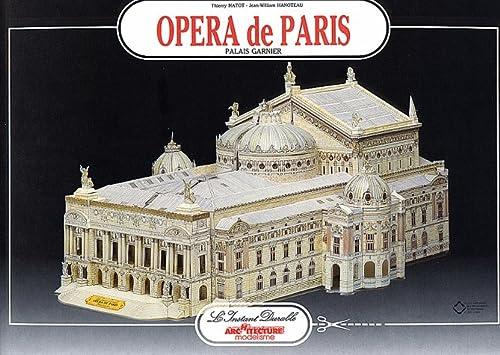 Paris Opera House: Scale Architectual Paper Model: Jean-William Hanoteau