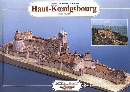 9782864040330: Haut-Koenigsbourg Castle: Scale Architectual Paper Model
