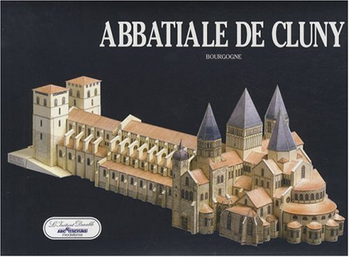 9782864040347: Cluny Abbey: Scale Architectual Paper Model