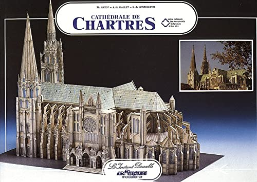 Chartres Cathedral: Scale Architectual Paper Model: Thierry Hatot