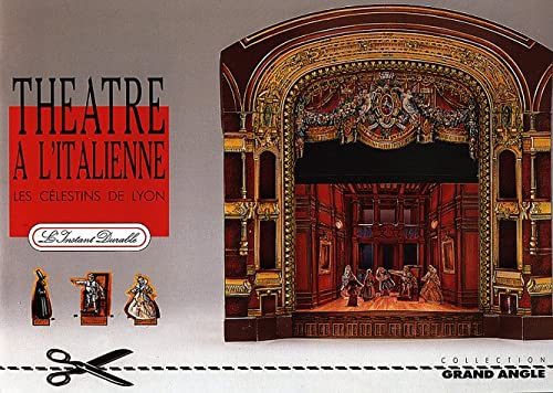 Italian Theater: Scale Architectual Paper Model: Guerin, Pierre, Piaulet,