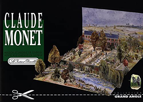 9782864040545: Monet's Gardens at Giverny: Scale Architectual Paper Model
