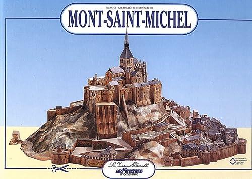 9782864040583: Mont-Saint-Michel: Scale Architectual Paper Model