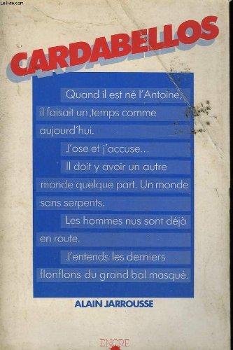 Cardabellos (Le Silence brisé): Jarrousse, Alain
