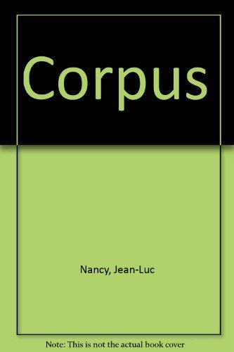 9782864241249: Corpus (L'elementaire)