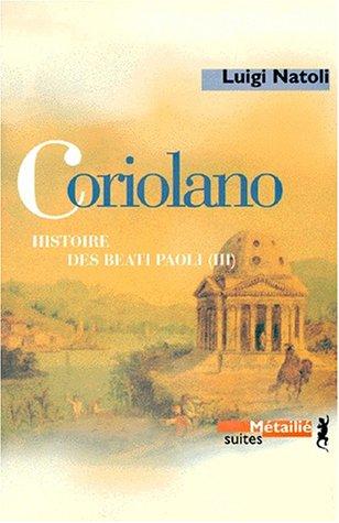 9782864243649: Coriolano