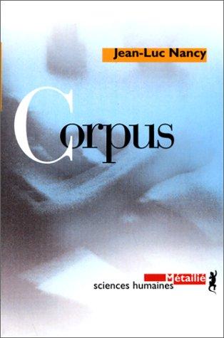 9782864243663: Corpus (Sciences humaines)
