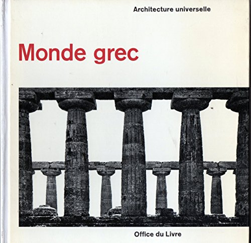 9782864250005: Monde grec architecture universelle