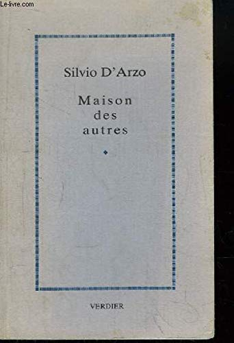 9782864320654: Maison des autres (Editions Verdie)