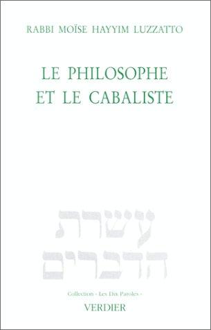Le philosophe et le cabaliste : Exposition
