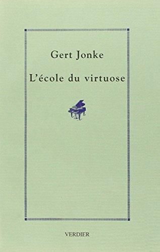 9782864321668: L'école du virtuose : Récit (Der Doppelgänger)