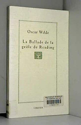 9782864322009: La ballade de la geôle de Reading : Poème