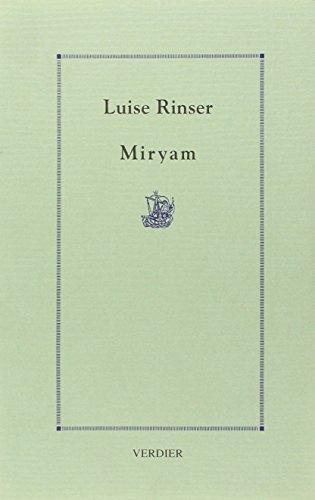 9782864322085: Miryam (Der Doppelg�nger)