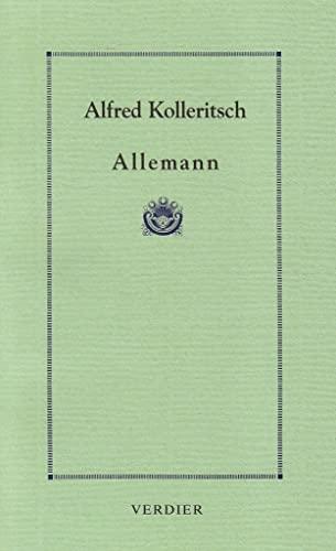 ALLEMANN: KOLLERITSCH ALFRED