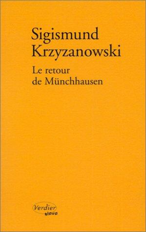 9782864323518: Le Retour de Münchhausen
