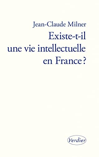 9782864323679: Existe-t-il une vie intellectuelle en France ?