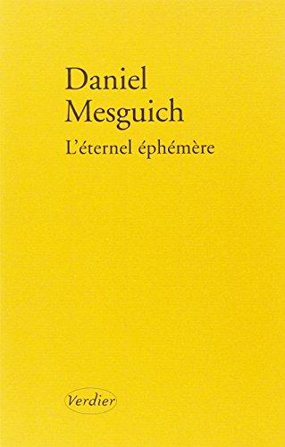 9782864324614: L'éternel éphémère : Suivi de Le sacrifice par Jacques Derrida