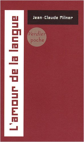 9782864325673: L'amour de la langue (French Edition)