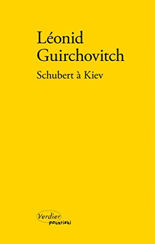 9782864326687: Schubert à Kiev