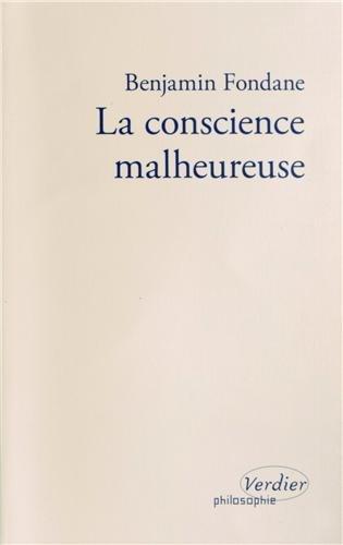 9782864327196: La conscience malheureuse