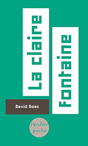 CLAIRE FONTAINE (LA): BOSC DAVID