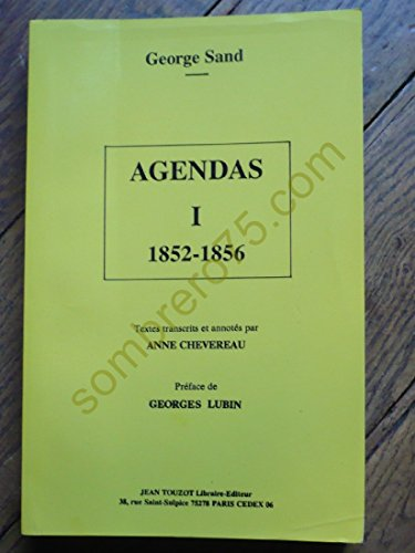 9782864330356: Agendas (French Edition)