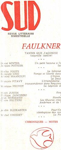 9782864460299: REVUE SUD NUMERO 48 : WILLIAM FAULKNER