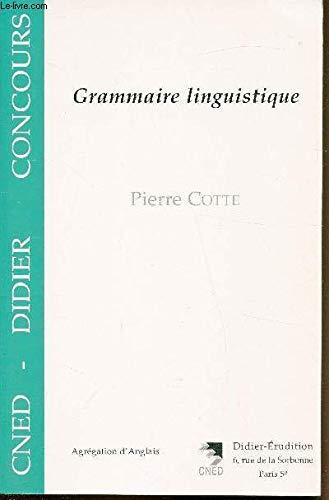 9782864602941: grammaire linguistique