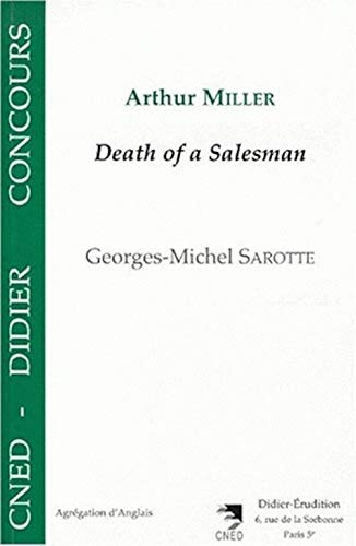 9782864603467: Arthur Miller - Death of a Salesman (French Edition)