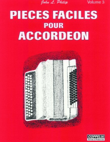 9782864610953: Partition: Accord�on vol. 3 pi�ces faciles