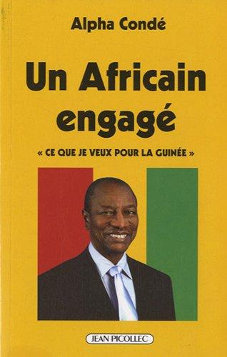 9782864772446: Alpha Conde, un africain engagé