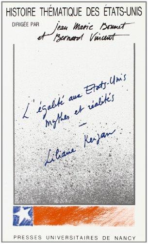 9782864804895: l'egalite aux etats-unis, mythes et realites
