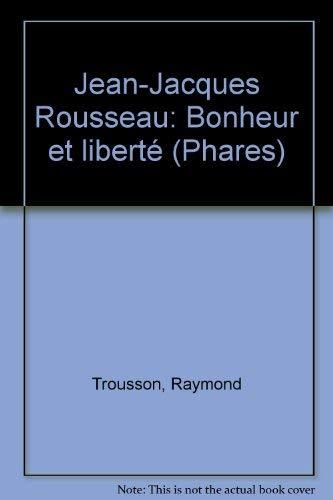 9782864805861: Jean-Jacques Rousseau (Phares)