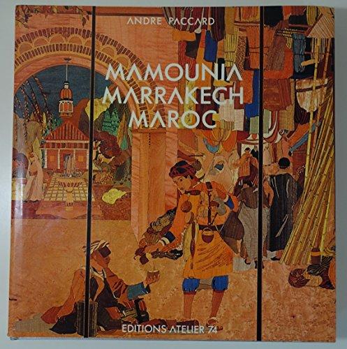 9782864860112: Mamounia marrakech maroc