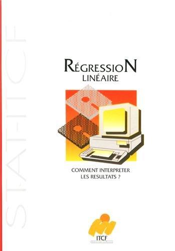 9782864922735: Comment interpr�ter les r�sultats d'une r�gression lin�aire ?