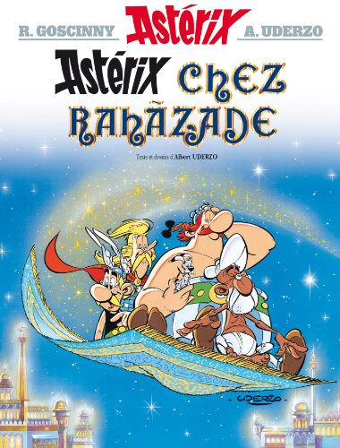 9782864970200: Asterix in French: Asterix chez Rahazade